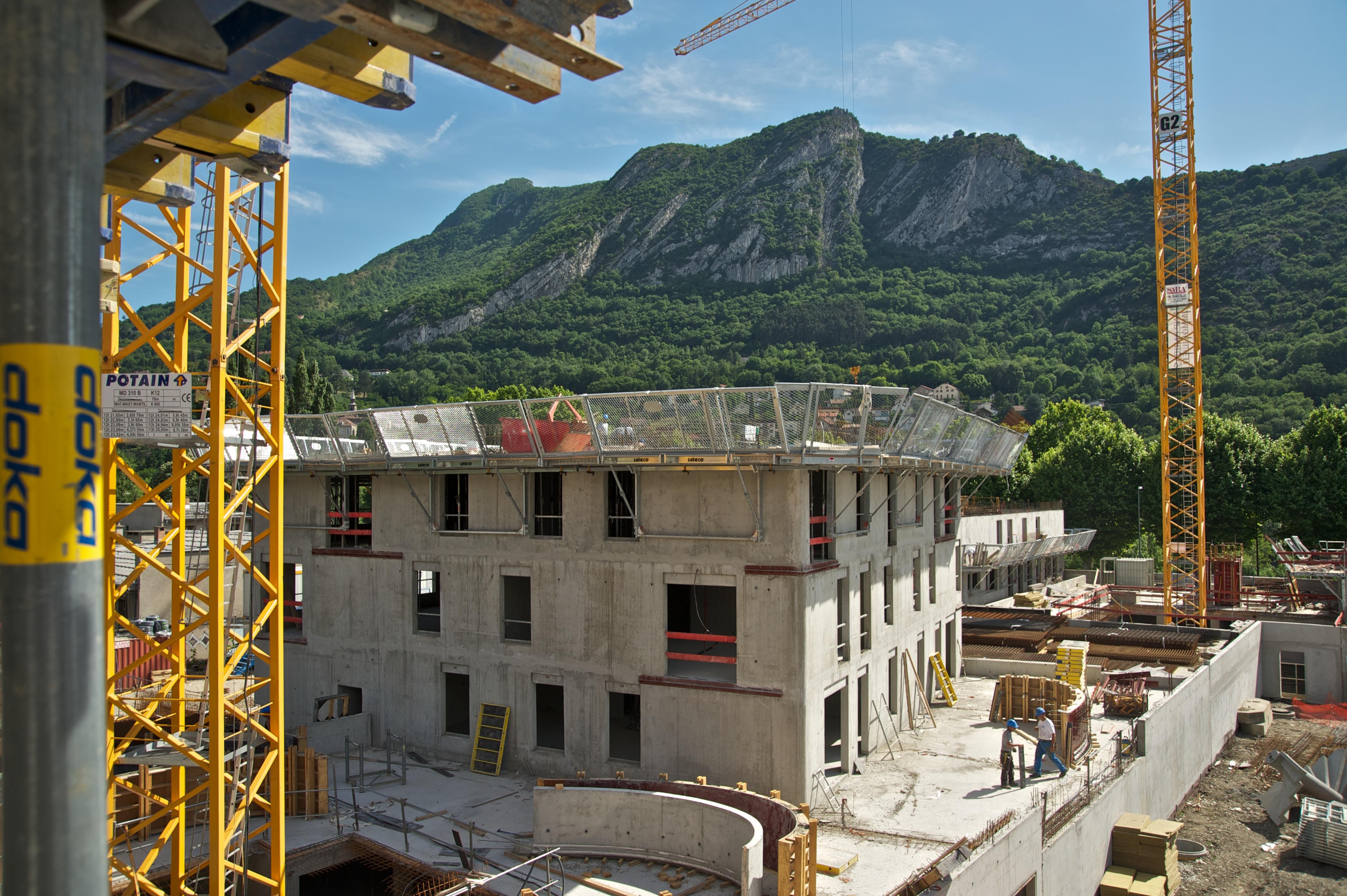 QUAI DE LA GRAILLE – Bâtiment E et F – Grenoble (38)